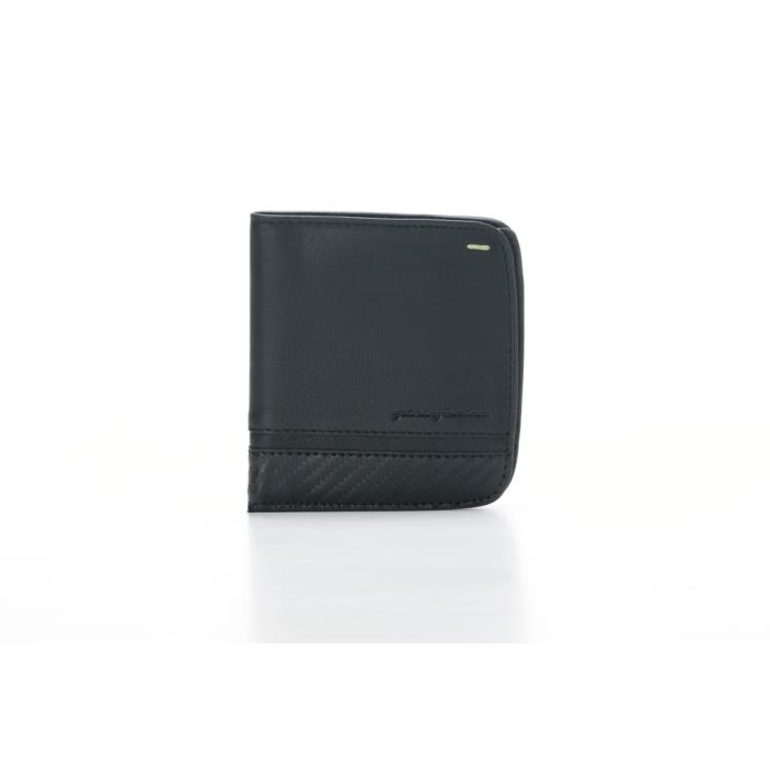 221375 - PININFARINA ΜΑΝ WALLET 8 CARDS CARBON-RFID STOP